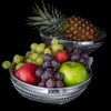 Woven Aluminum Round Fruit/Bread Basket