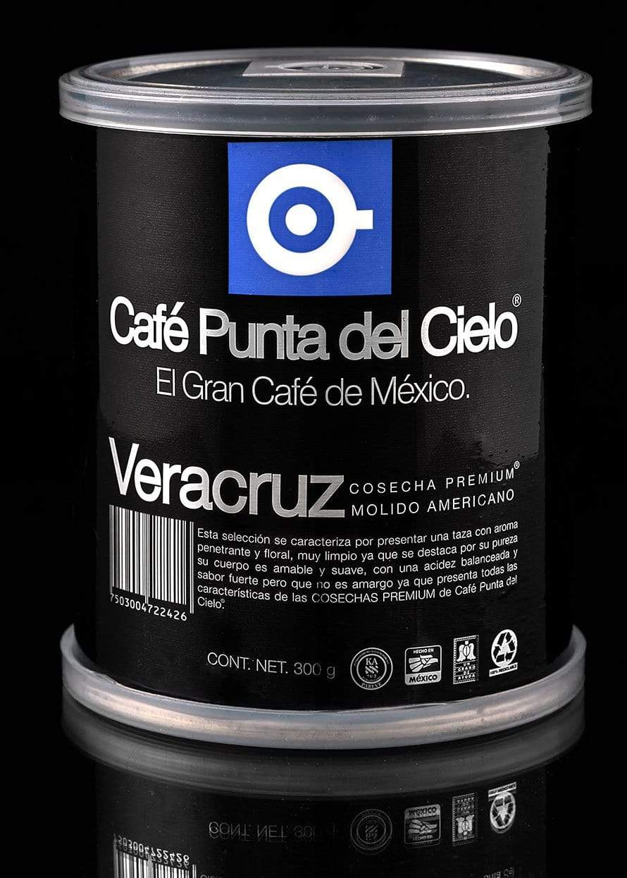 Veracruz Blend Ground Coffee Can