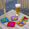 Lucha Libre Coasters (Set of 5)