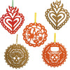 """Papel Picado"" Hanging Ornaments"