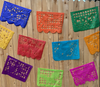 COCO Papel Picado Banner: Large ( 16.4 Ft.) Long With 10 Pieces