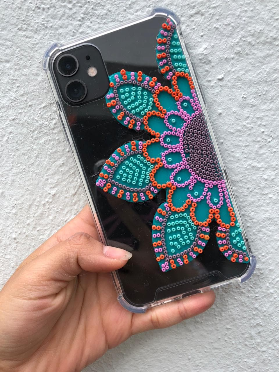 iPhone X & XS Beaded Cellphone Case