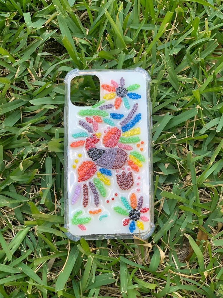 Samsung A10 Beaded Cellphone Case