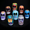 Medium Hand Painted Wooden Sugar Skulls