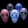 Extra Large Paper Mache Hand Painted Sugar Skulls