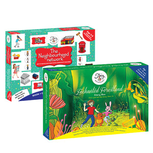 The Neighbourhood Network+ Enchanted Forestland Story box - The Story Merchants