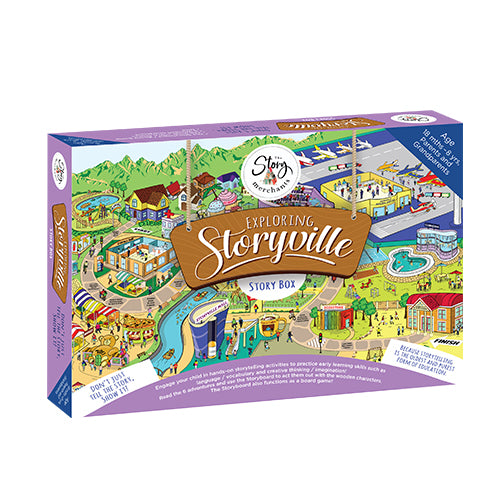 Exploring StoryVille Story Box - The Story Merchants