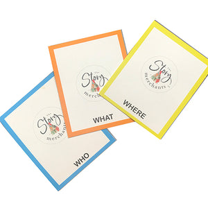 Spin A Story - 90 Picturesque Story Cards - The Story Merchants