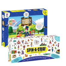 Load image into Gallery viewer, Spin-A-Story+ Money Mania Box - The Story Merchants