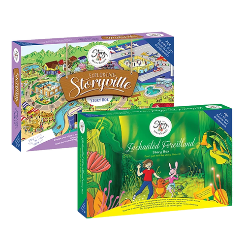 Exploring Storyville+ Enchanted Forestland Story Box - The Story Merchants
