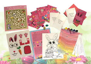 Bunny Treasure Hunt Box+ Spin A Story - The Story Merchants