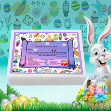 Load image into Gallery viewer, Bunny Treasure Hunt Box+ Spin A Story - The Story Merchants