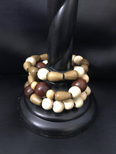 Load image into Gallery viewer, Wood Bead Bracelets