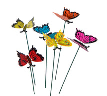 Gardenstick Butterfly Little 6S Assorted L9W4H30