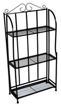 Baron Etagere 3 Shelf Black L50W21H98