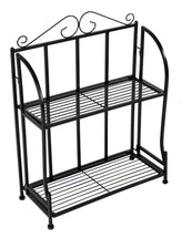 Baron Etagere 2 Shelf Black L50W21H64