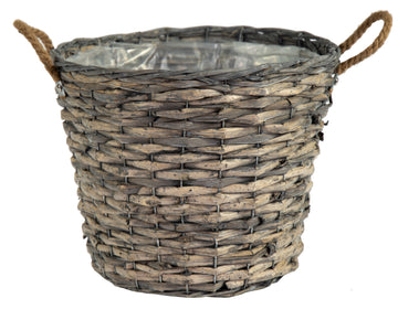 Bobs Bush Basket Potato Grey D39H31