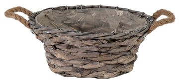 Bobs Bush Basket Bowl Grey D31H13