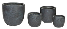 Arizona Egg Pot Graphite S4 D25/45H25/43