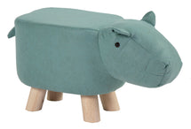 Animal Stool Cow Light Blue L50W28H24