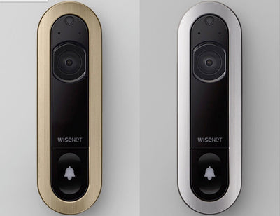 Wisenet SmartCam D1 Facial Recognition Video Doorbell