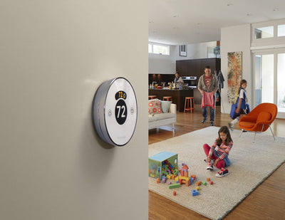 Lyric Round – The Second Generation Wi-Fi Thermostat