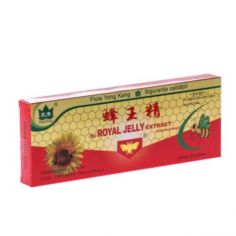 Fiole cu extract de royal jelly 10ml 10buc YONG KANG