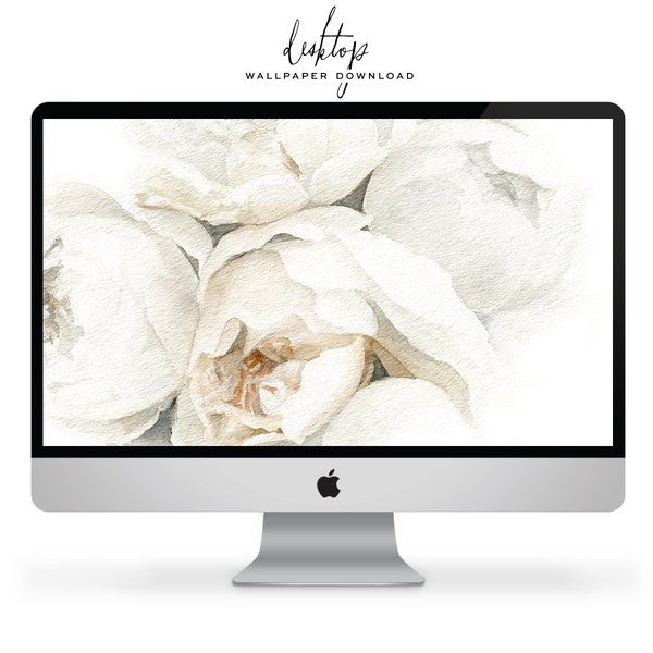 *Free* Wallpaper For Your Tech: Quiet Garden Roses