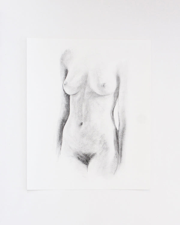 Figure drawing no.36 | 14x17