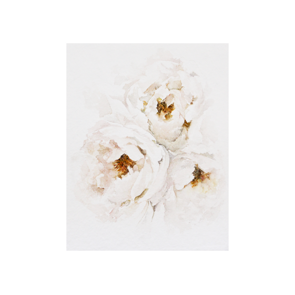 Golden Peonies | 8x10