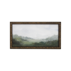 Foggy Hillside | 3.25 x 6.75
