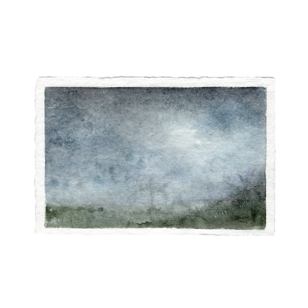 Blurred Landscape | 5.5x8.5