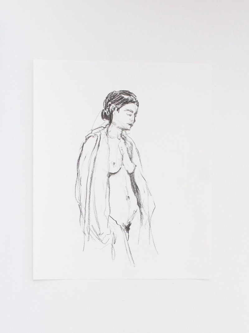 Figure drawing no.34 | 14x17