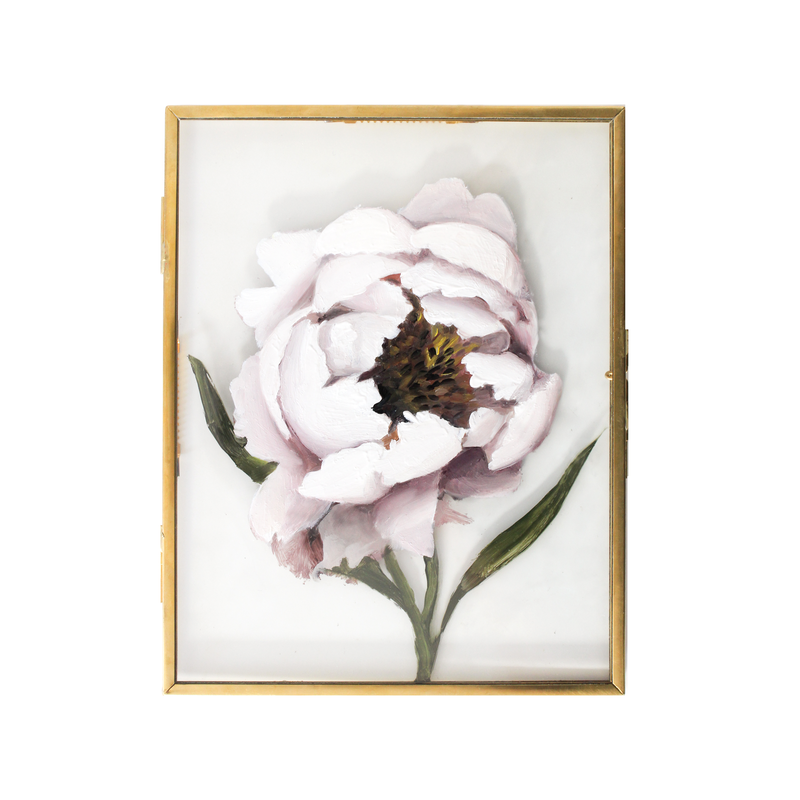 Peony in Glass | 7x9