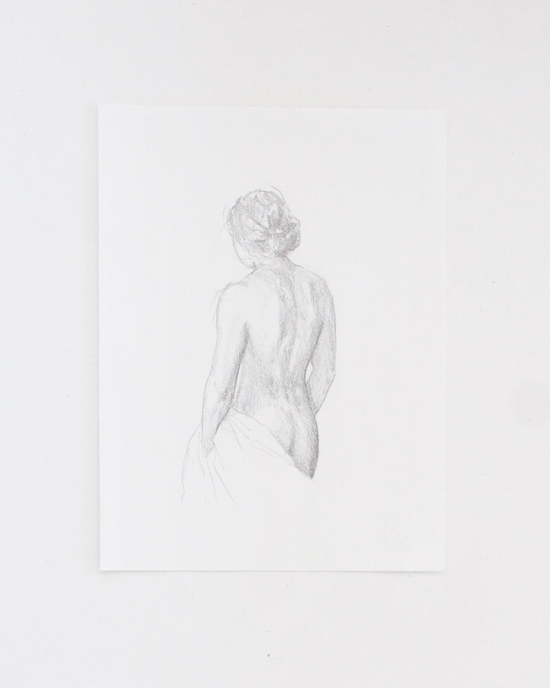 Figure drawing no.35| 9x12