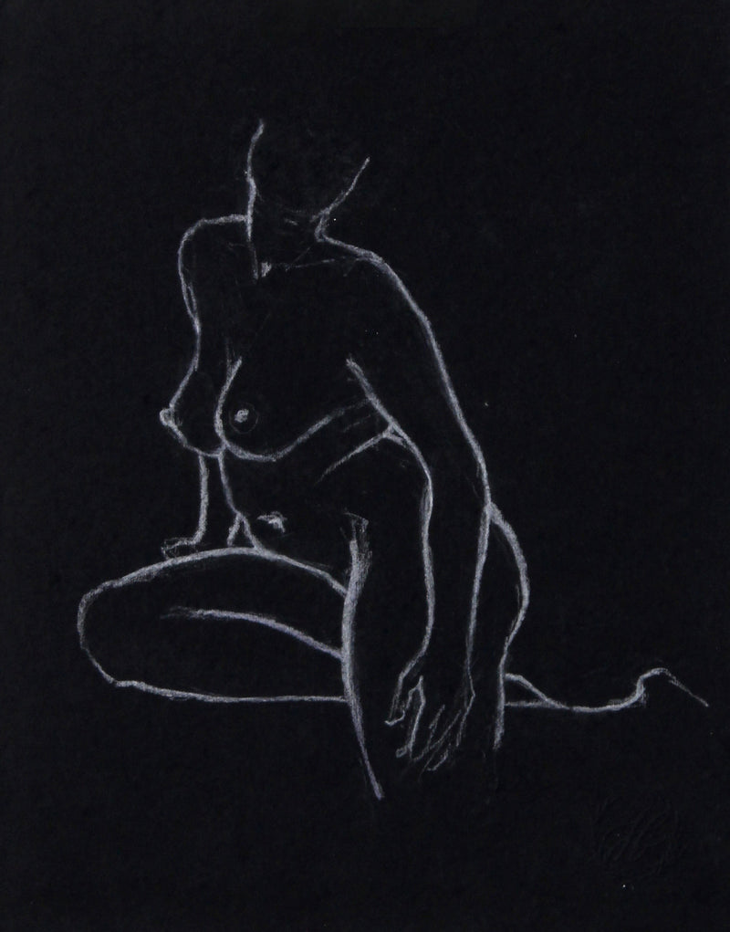 Figure on Black no.1 | 8x10
