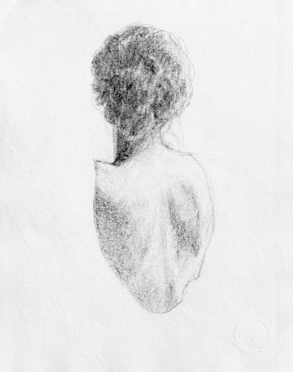 Figure drawing no. 17 | 8x10
