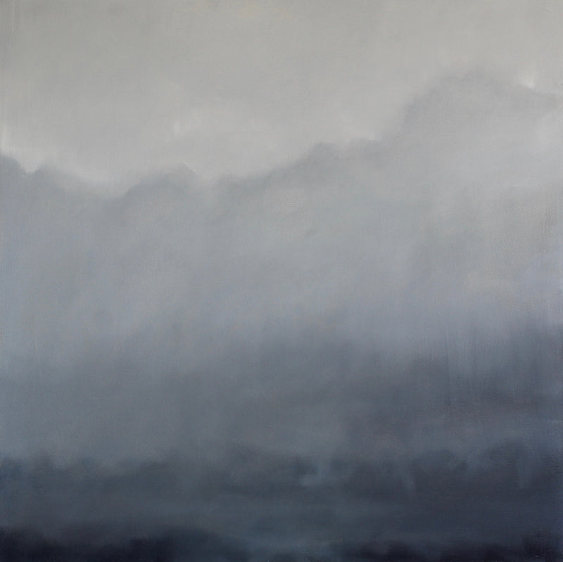Fog over the hills | 30x30
