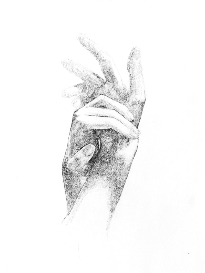 Graceful Hands | 9x12