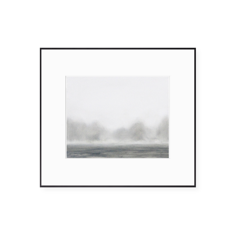 Lake in the Mist Print