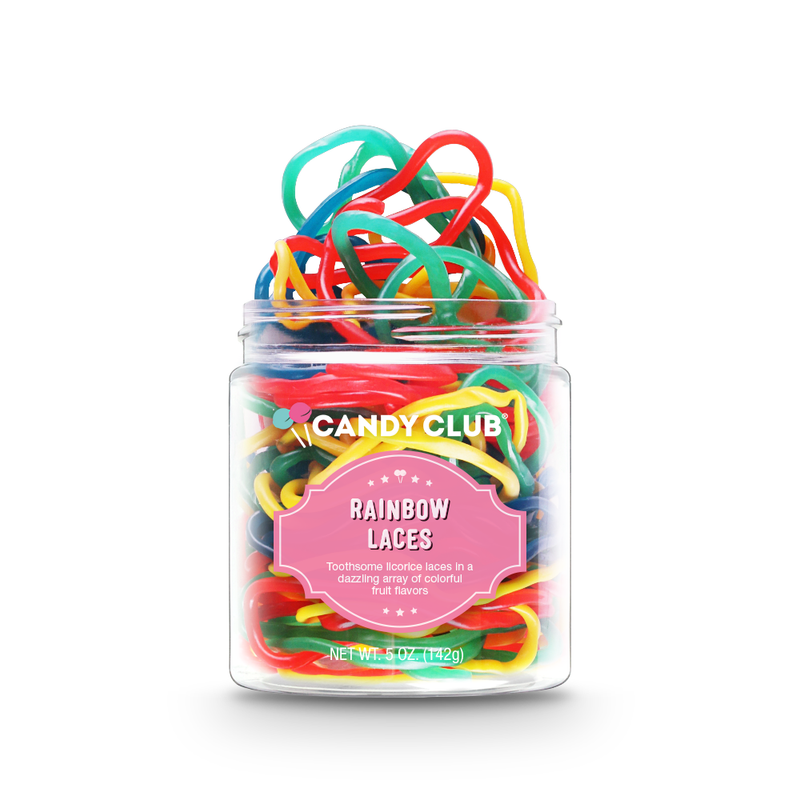 CANDY CLUB RAINROW LACES