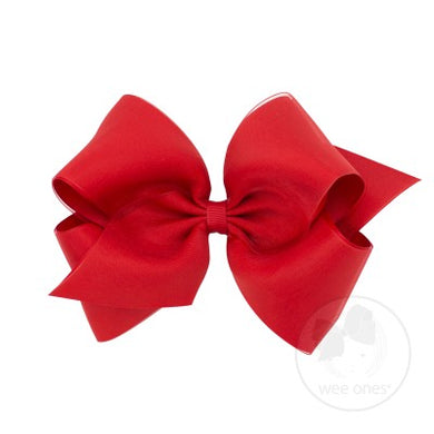 WEE ONES OVERLAY RED BOW