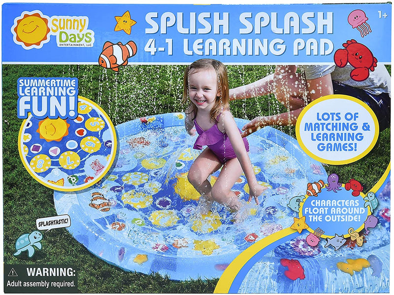 SUNNY DAYS SPLISH SPLASH 4-1 LEARNING PAD
