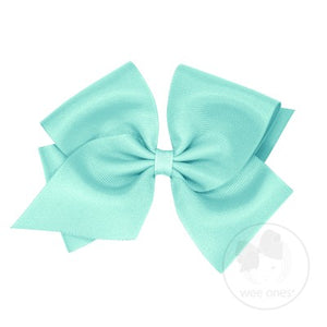 WEE ONES GROSGRAIN TROPIC BOW TPC
