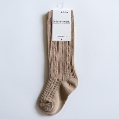 LITTLE STOCKING COMPANY OAT KNEE HIGH SOCKS