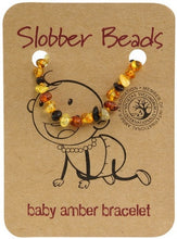Load image into Gallery viewer, SLOBBER BEADS- BABY AMBER BRACELET