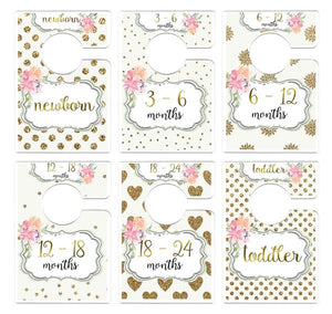 MUMSY GOOSE RECTANGLE CLOSET DIVIDERS (MULTIPLE STYLES)
