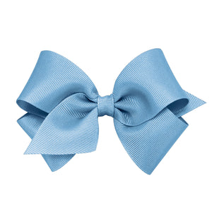 WEE ONES GROSGRAIN FRENCH BLUE BOW FBL