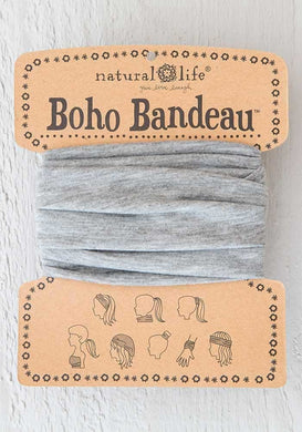 NATURAL LIFE BOHO BANDEAU- HEATHER GREY