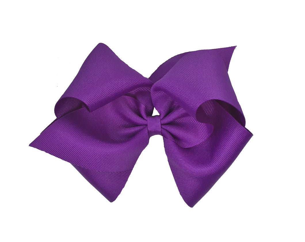 WEE ONES GROSGRAIN SUGAR PLUM BOW SGP